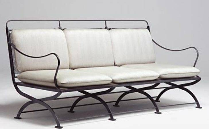 Best Wrought Iron Sofa Pinterest