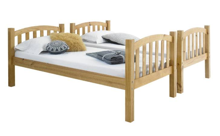 Betternowm American Solid Pine Wood Bunk Bed