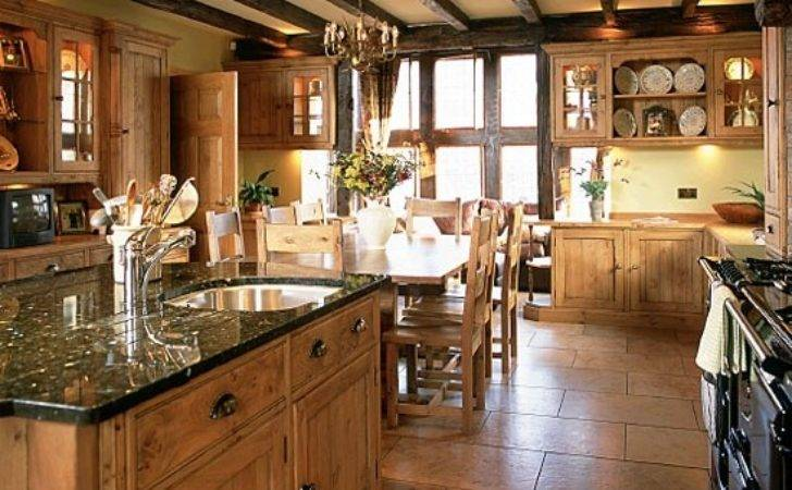 Big Open Country Kitchen House Homemy Home