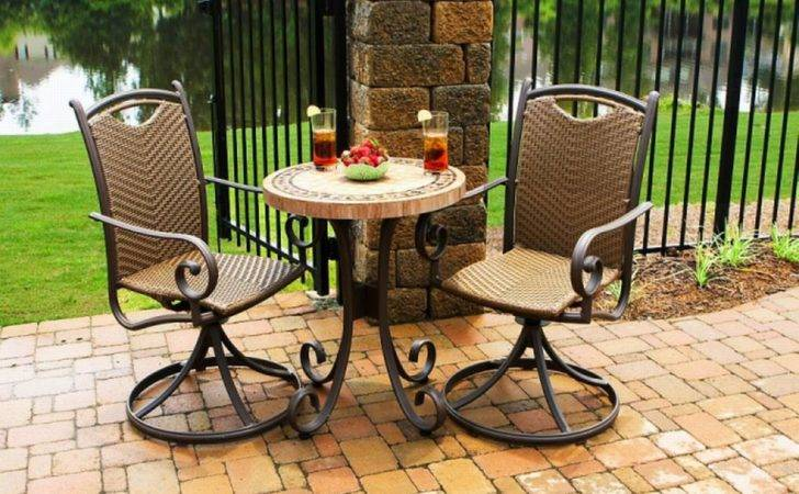 Bistro Table Outdoor Home Furniture Decor
