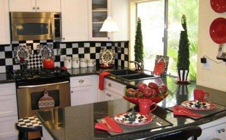 Black White Coffee Themed Kitchen Decor Home Interiors