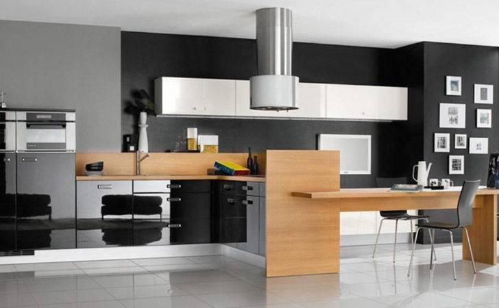 Black White Kitchen Decor Design Ideas