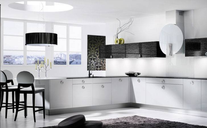 Black White Kitchen Decor