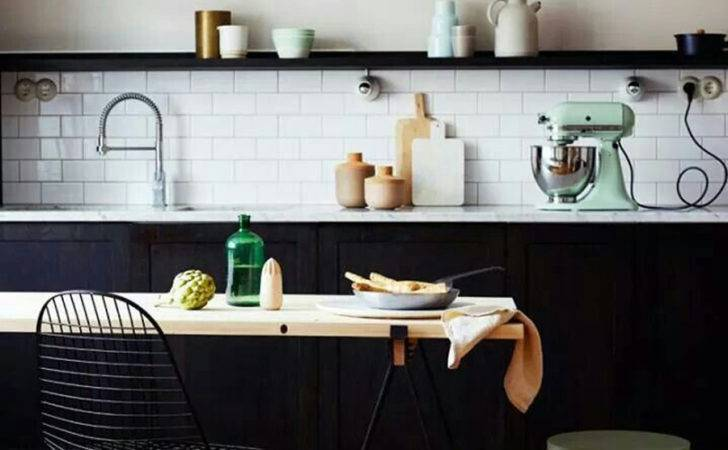 Black White Kitchen Decoration Modern Home Decor