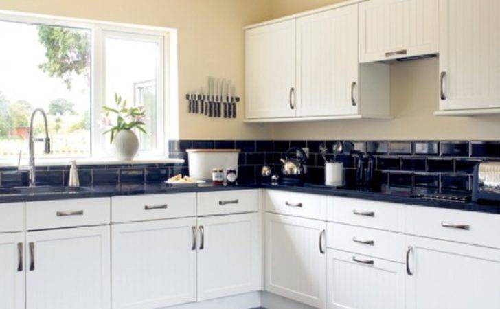 Black White Kitchen Design Decorating