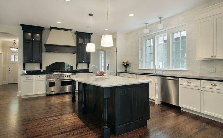 Black White Kitchen Designs Ideas Photos