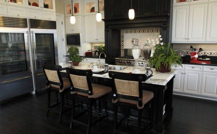 Black White Kitchen Designs New Jersey Natural