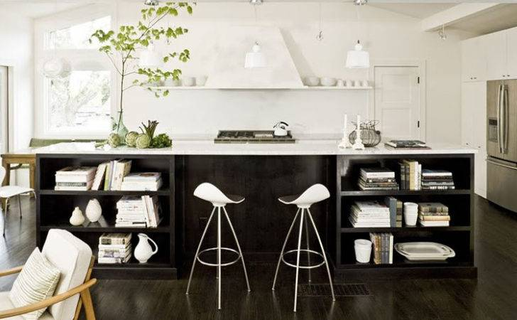 Black White Kitchen Interior Design Ideas