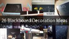 Blackboard Decoration Ideas