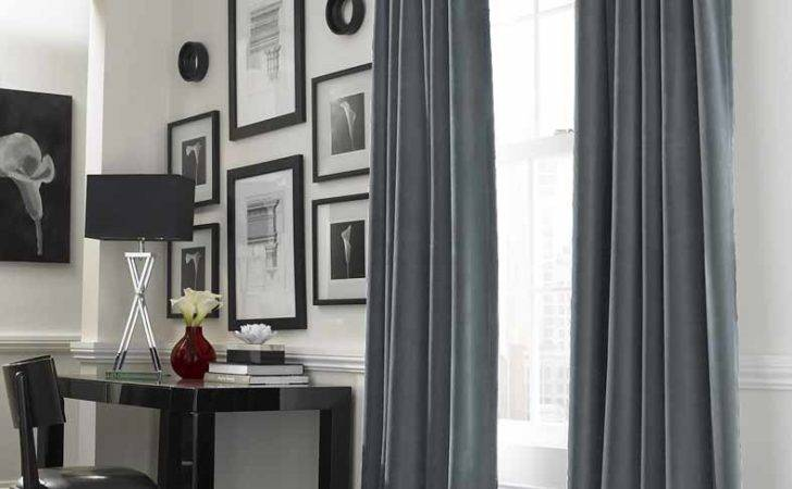Blind Curtains Cool Grey Curtain Ideas Large