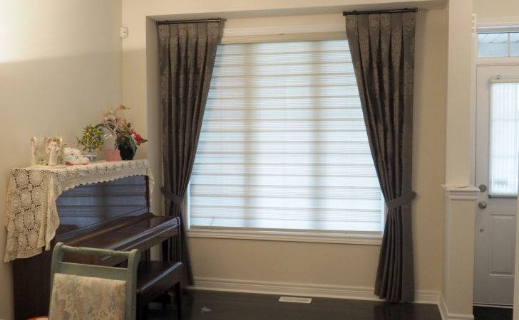 Blinds Drapes Side Panel Combinations Trendy
