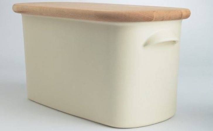 Blisshome Nigella Lawson Living Kitchen Bread Bin Cream