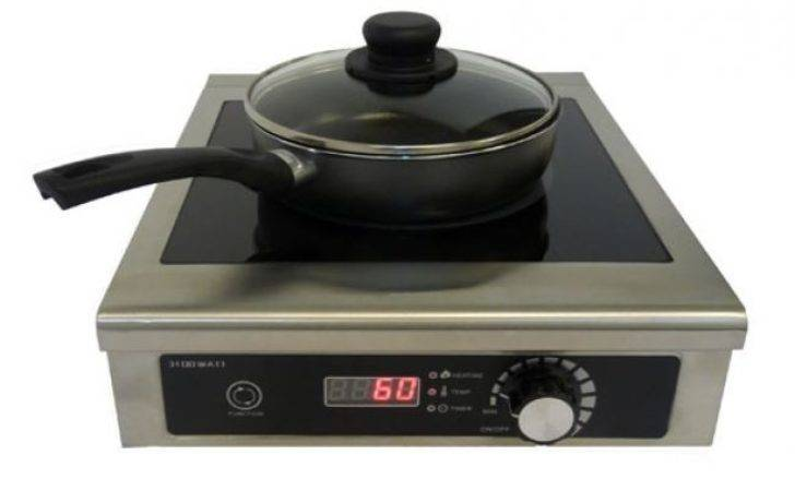 Blizzard Ind Commercial Induction Hob Single Ring