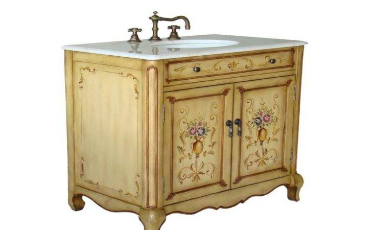 Bloombety Best French Country Bathroom Vanity