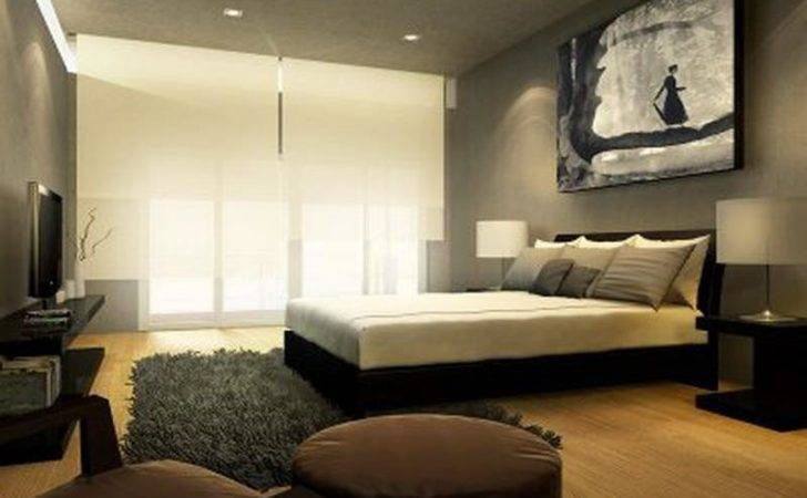 Bloombety Contemporary Master Bedroom Wall Decorating