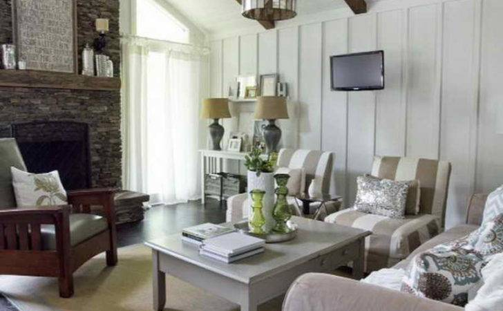 Bloombety Cottage Style Furniture Living Room Grey