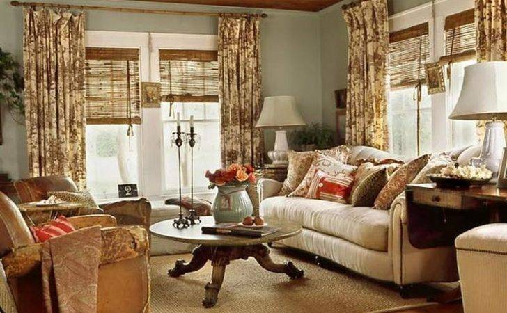 Bloombety Cottage Style Living Room Antiquetable Design