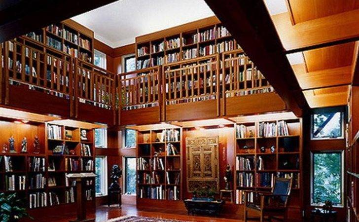 Bloombety Good Home Library Design Ideas