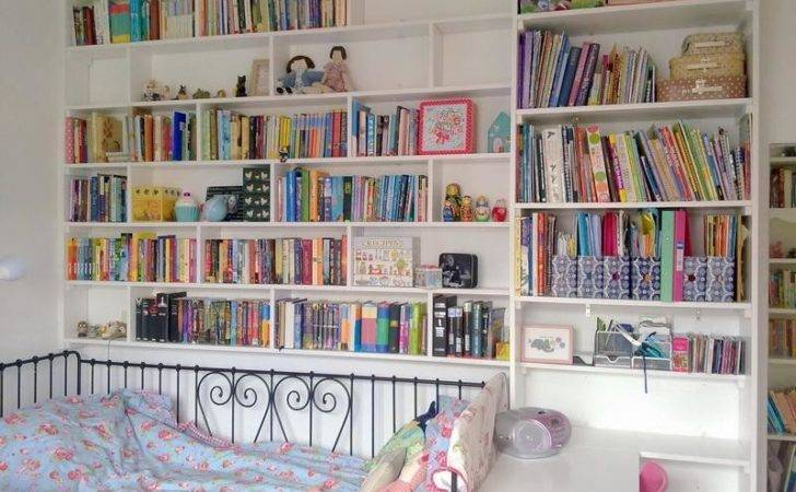 Bloombety Pretty Bedroom Bookshelves Coolest