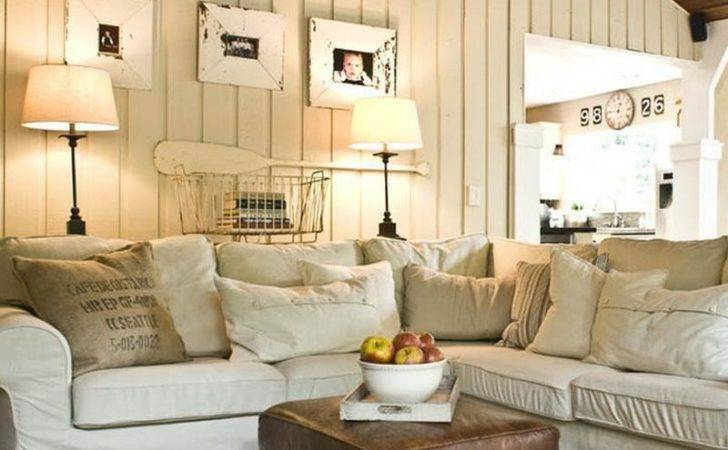 Bloombety Sweet Design Cottage Style Living Room