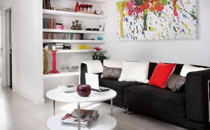Bloombety Very Small Living Room Design Ideas Round