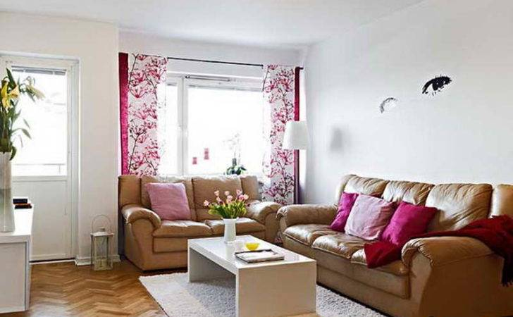 Bloombety Very Small Living Room Design Ideas White