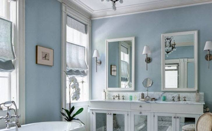 Blue Gray Bathroom Tile Ideas