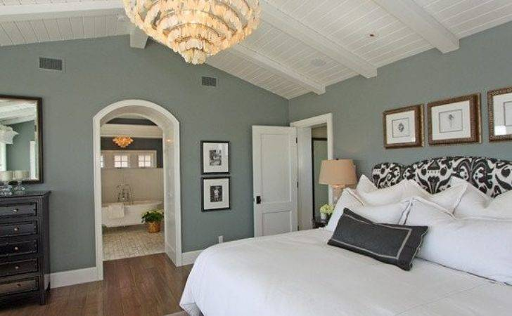 Blue Gray Bedroom Green Exterior Paint Colors