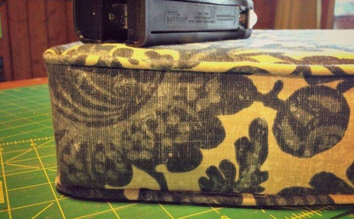 Blue Roof Cabin Tip Sewing Cushion Cover Piping