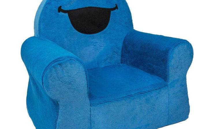 Blue Toddler Comfy Chair Small