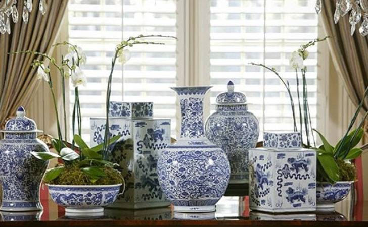 Blue White Chinoiserie Style Theories