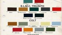 Bmc Paint Codes Colors Library