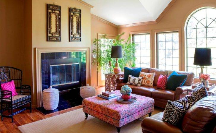 Bohemian Style Living Room Ideas