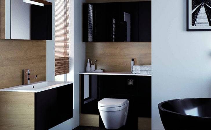 Bold Mereway Vogue Black Gloss Bathroom Ddpr