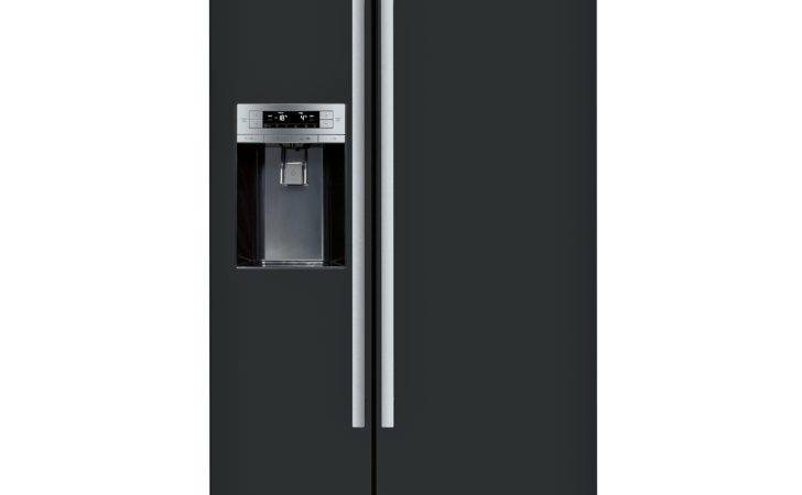 Bosch Kad Black Freestanding American Style Fridge