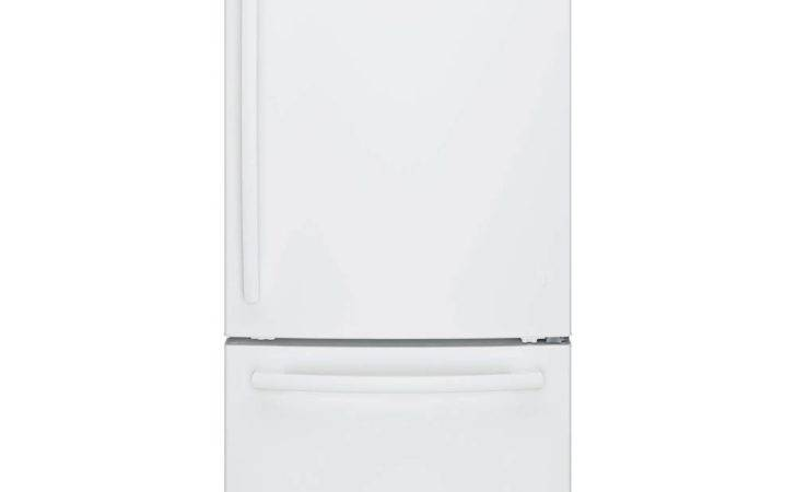 Bottom Freezer Refrigerator High Gloss