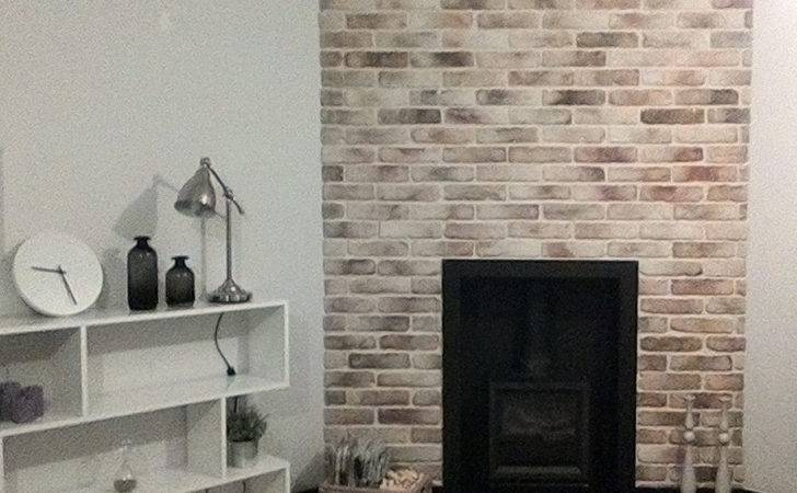 Brick Chimney Breast Easy Fit Slips Feature