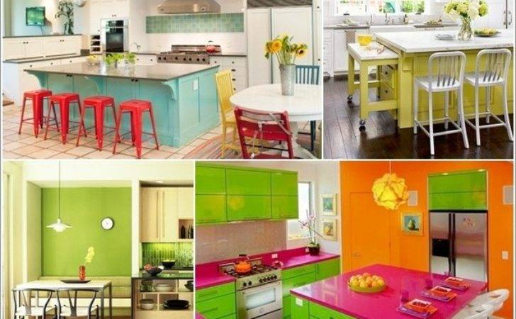 Bright Colorful Kitchen Designs Simply