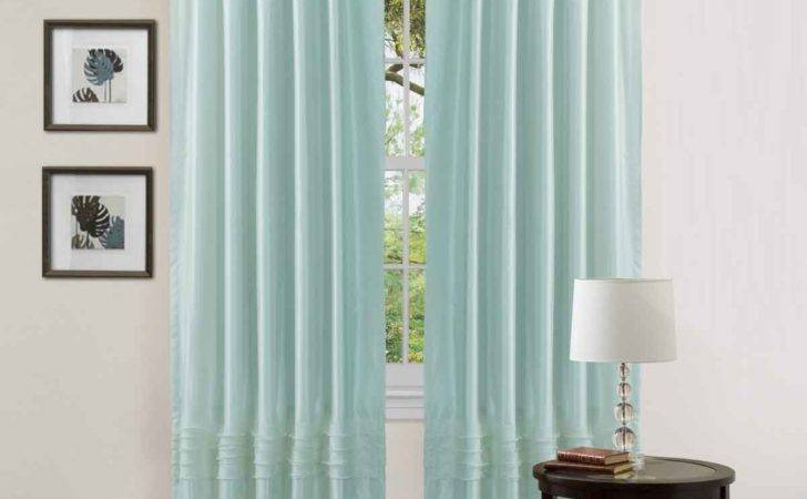 Briliant Idea Simple Blue Curtain Bedroom Decosee