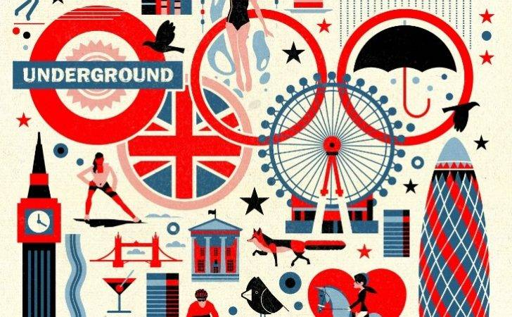 Brilliant London Illustrations Your Home Skimbaco