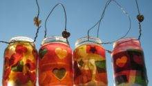 Bristol Parenting Cafe Jam Jar Lanterns