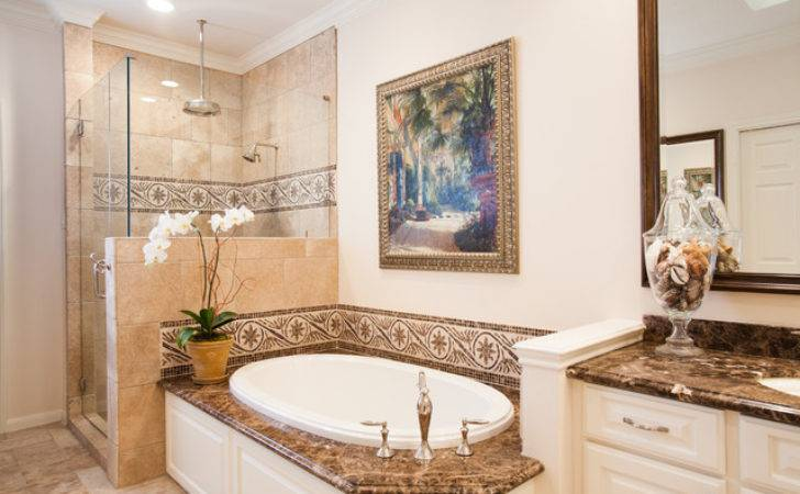 British Colonial Traditional Bathroom Houston