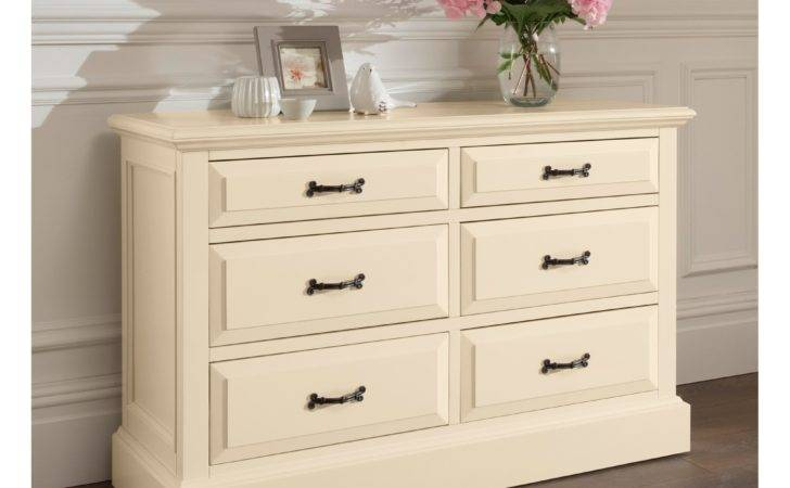 Brittany Drawer Antique French Chest