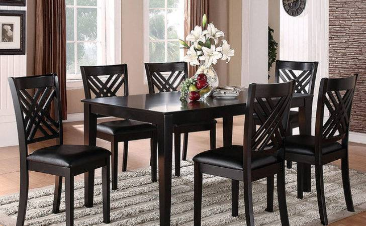 Brooklyn Black Piece Dinette Set Traditional Dining