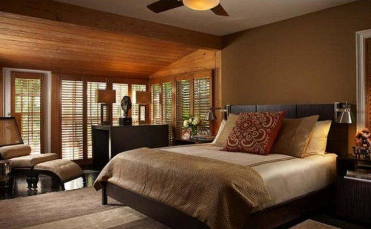 Brown Interior Color Theme Deesign Ideas Modern