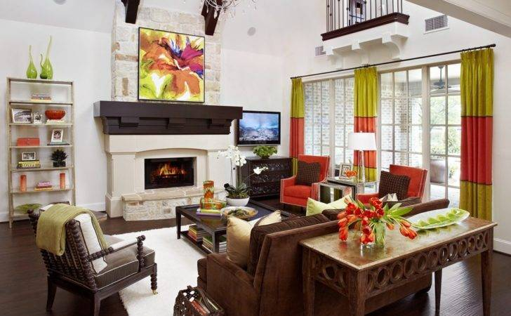 Brown Leather Couch Living Room Ideas Inspiring
