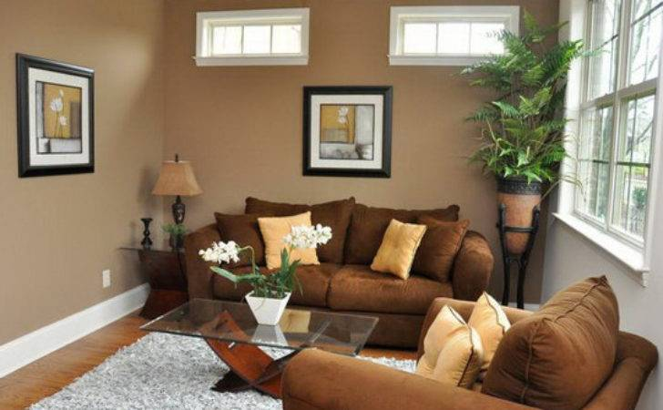 Brown Living Room Modern Ideas Home Round