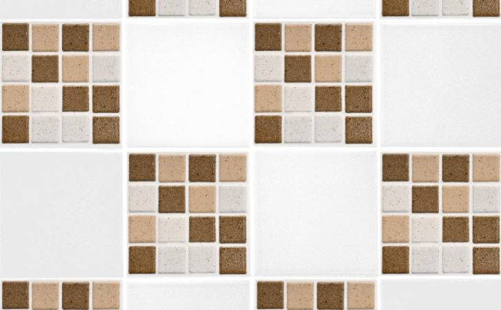 Brown Mosaic Tile Transfers Second Makeover