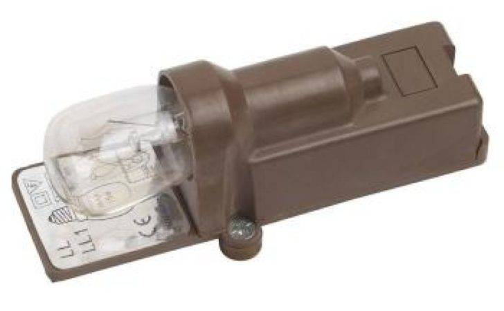 Brown Single Switched Ses Pygmy Light Bulb Fitting