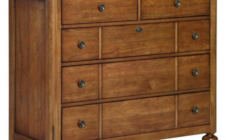 Broyhill Furniture Creswell Media Chest Drop Down